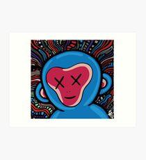 funk monkey Art Print