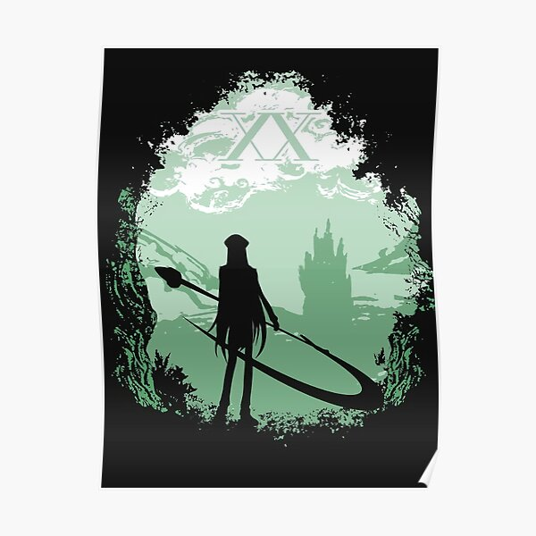The Shadow X In Forest Poster