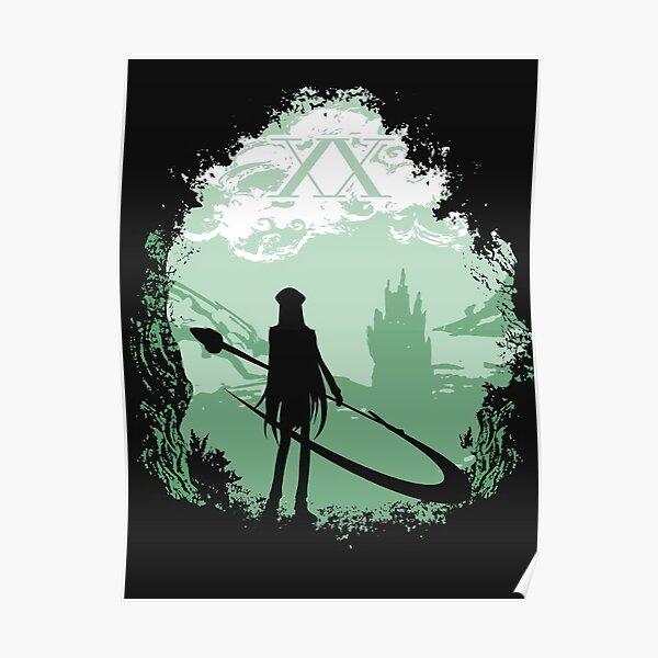 La sombra X en el bosque Póster