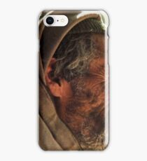 Moroccan wizened man iPhone Case/Skin