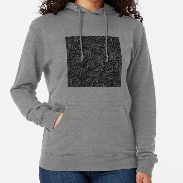 Unique metallic pattern Lightweight Hoodie