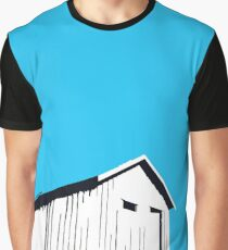 Vancouver Harbour shed on stilts Graphic T-Shirt