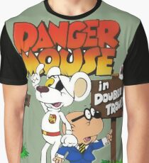 DOUBLE TROUBLE MOUSE Graphic T-Shirt