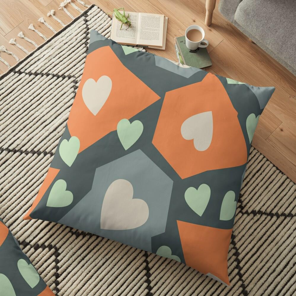 Seeds of Life Floor Pillow