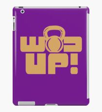 Crossfit Gear Fitness Exercise Weight lifting funny nerd geek geeky iPad Case/Skin