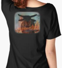 BULL FROM HELL Women's Relaxed Fit T-Shirt