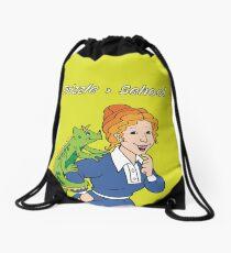 Frizzle > School Green Drawstring Bag