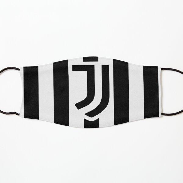 Juve schwarz und weiß Maske für Kinder