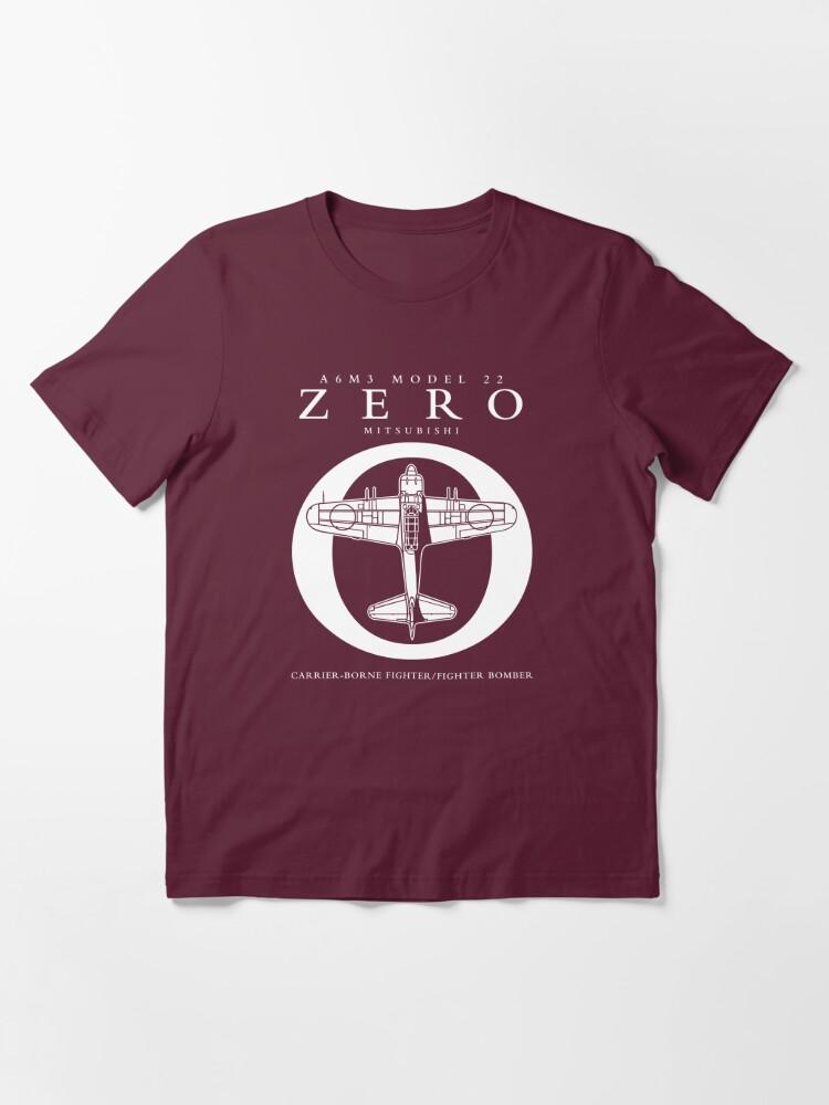 Alternate view of Mitsubishi Zero! Banzai! Essential T-Shirt