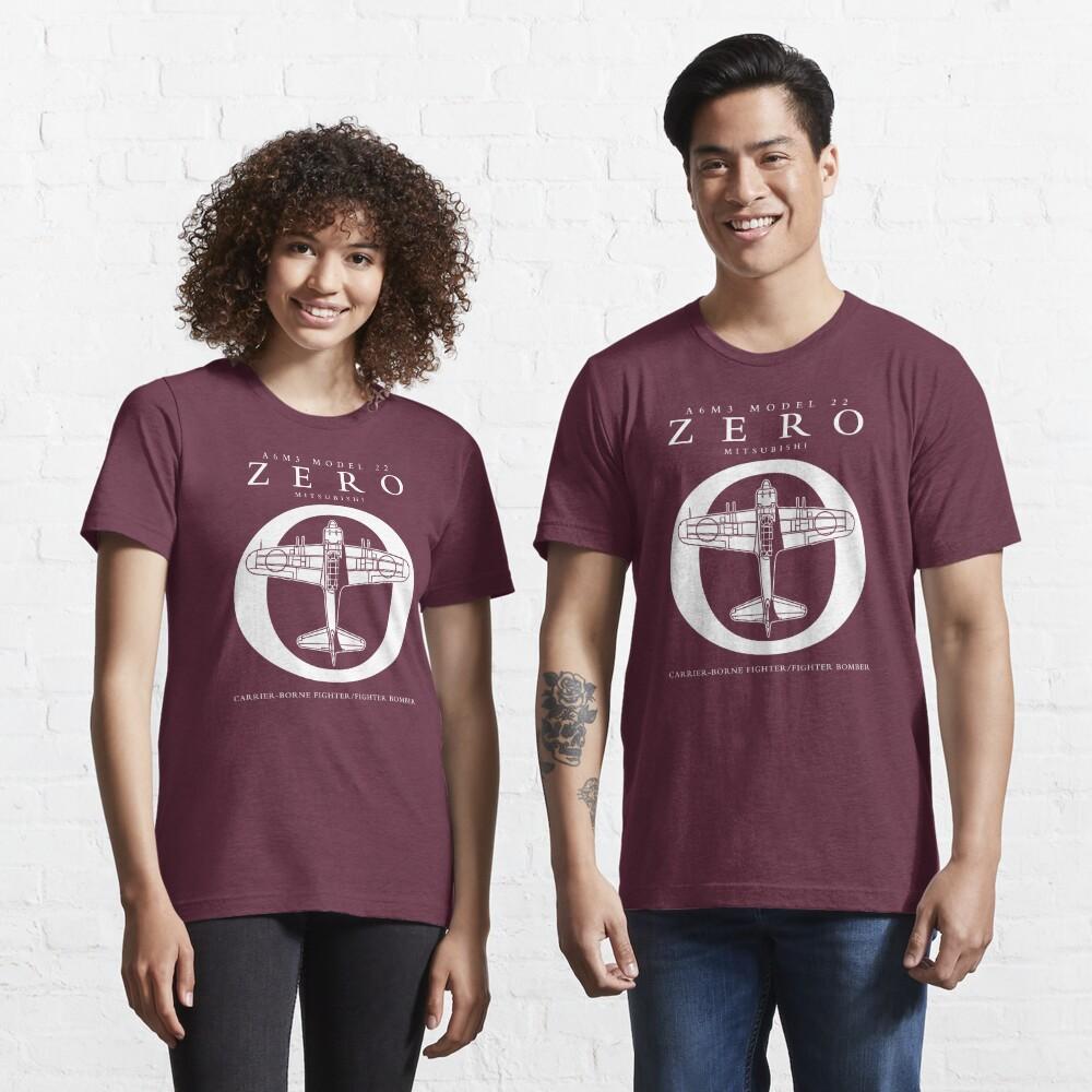 Mitsubishi Zero! Banzai! Essential T-Shirt