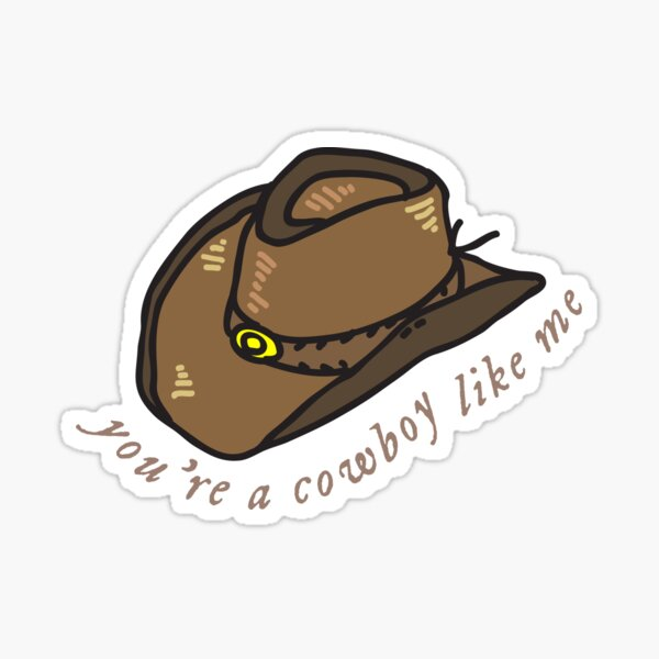 Taylor Swiftie sticker Cowboy Like Me sticker The Sweetest Con sticker phone sticker Swiftie sticker laptop sticker evermore sticker