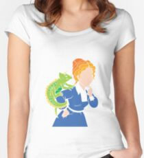 Frizzle > School Cutout Women's Fitted Scoop T-Shirt