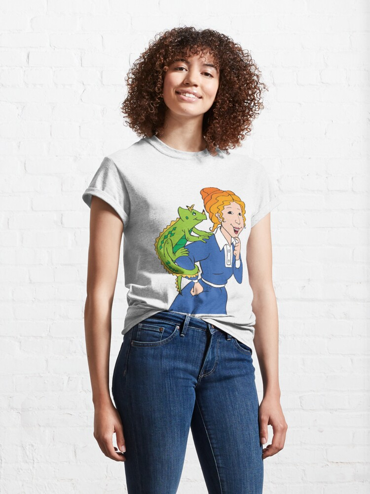 Alternate view of Frizzle Pattern Classic T-Shirt