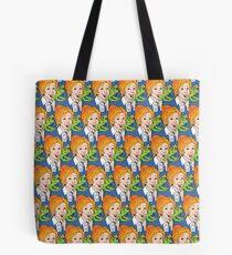 Frizzle Pattern Tote Bag