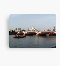 Waterloo Bridge, London, England Canvas Print