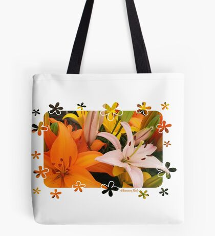 Memories of Spring ~ Lilies Tote Bag