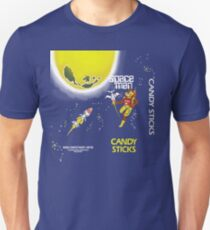 Kiwi Confectionery - Spaceman Candy Sticks Unisex T-Shirt