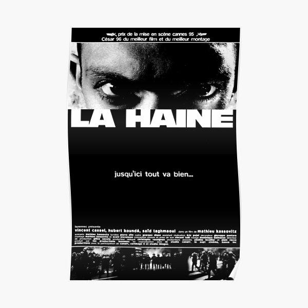 Affiche de film La Haine (1995) Poster