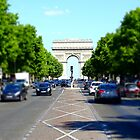 Champs Elysees Tiltshift by DES PALMER