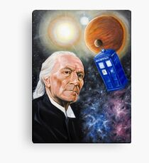 First Doctor Canvas Print