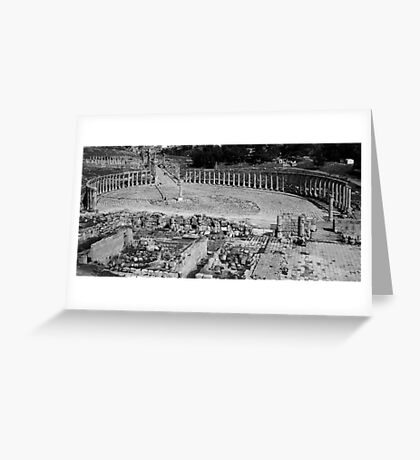 Square Pegs Greeting Card