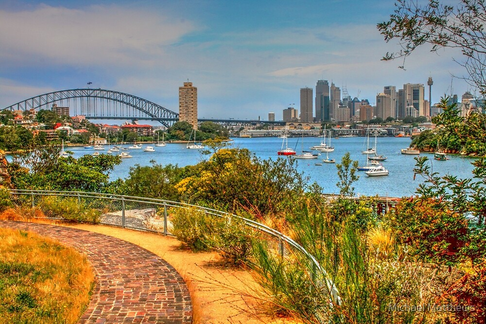 Sydney Harbour Curves by Michael Matthews