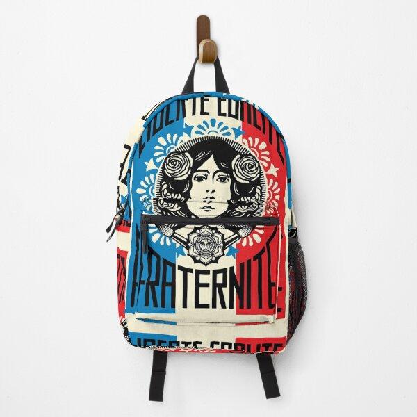 Liberte Egalite Fraternite Backpack