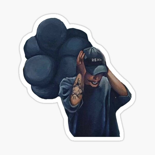 NF Leave Me Alone Sticker