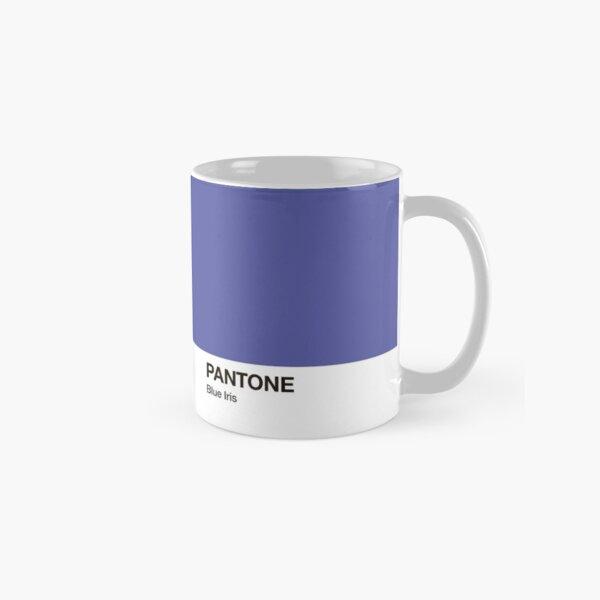 Pantone Colour Blue Iris. Colour of the year 2008. Classic Mug
