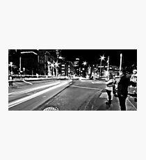 """Melbourne Black I"" Photographic Print"