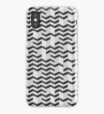 FOLDED / black iPhone Case