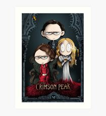 Little Crimson Peak Poster Art Print