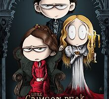 Little Crimson Peak Poster by HashGenius