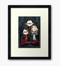 Little Crimson Peak Poster Framed Print