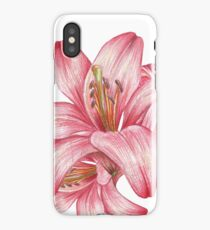 lily flowers_3 iPhone Case/Skin