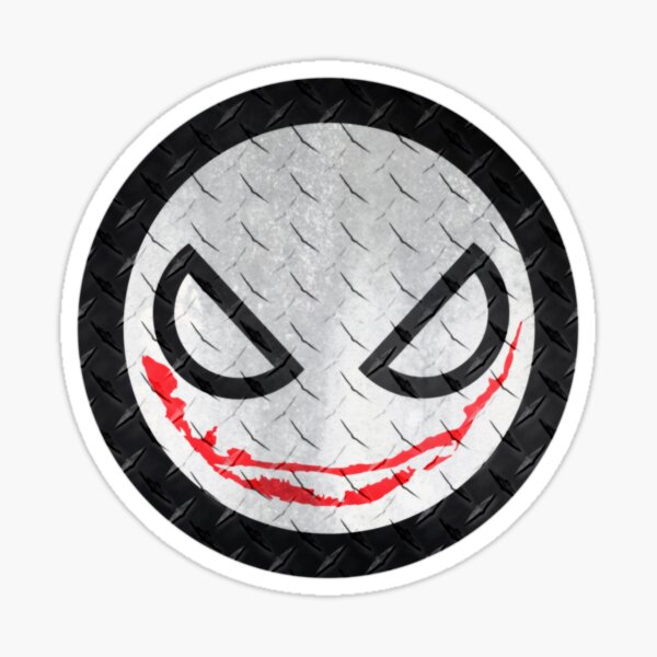 Creep Smile Sticker