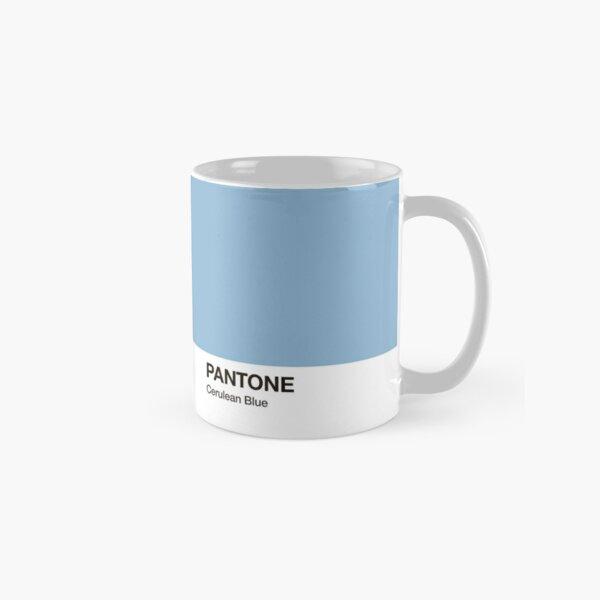 Pantone Colour Cerulean Blue. Colour of the year 2000. Classic Mug