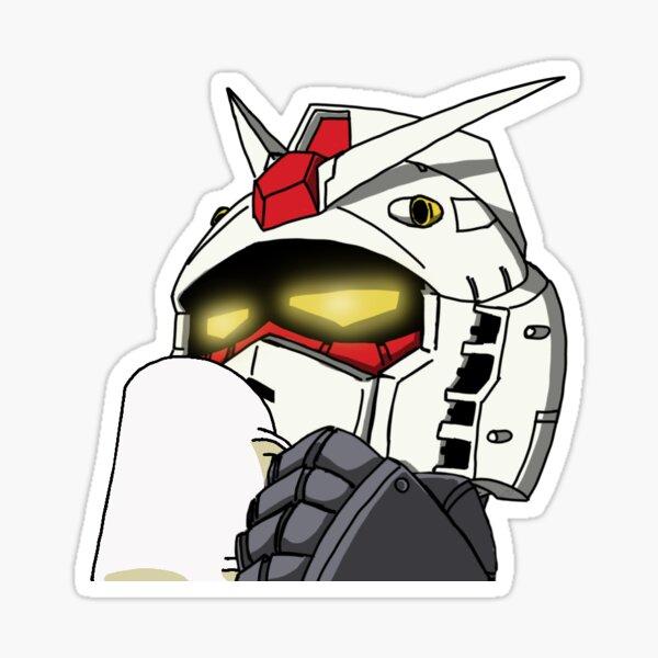 Copa Gundam Pegatina