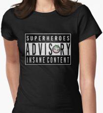 Advisory Women's Fitted T-Shirt