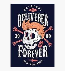 Deliverer Forever Photographic Print