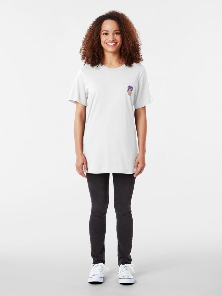 Alternative Ansicht von Gefängnis Mike Mini Kopf Slim Fit T-Shirt