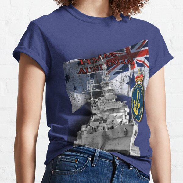 """HMAS Australia"" Classic T-Shirt"