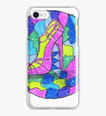 Fun shoe designs! iPhone Case/Skin