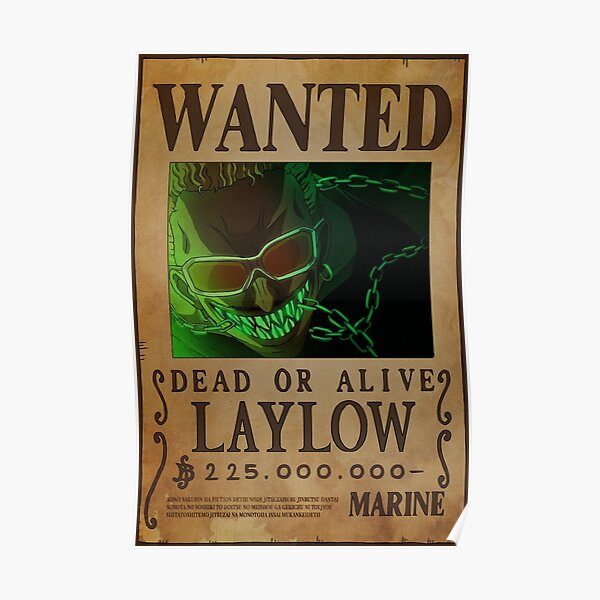 Laylow Wanted Poster
