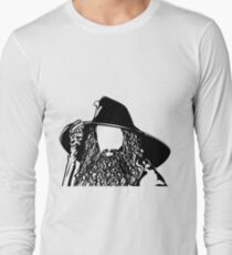 Ian as The Grey Wizard vacant expression T-Shirt