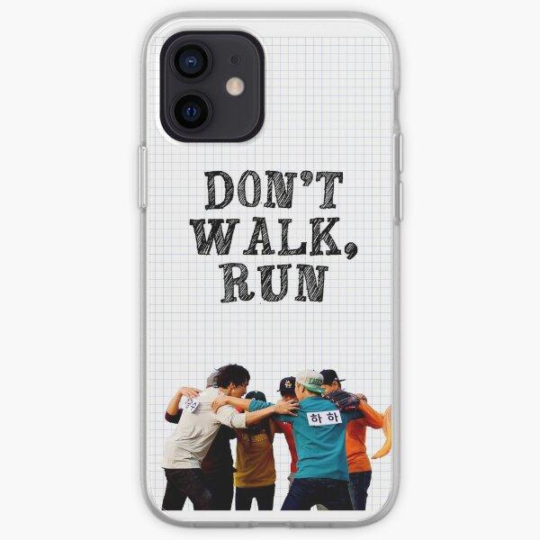 running man  iPhone Soft Case