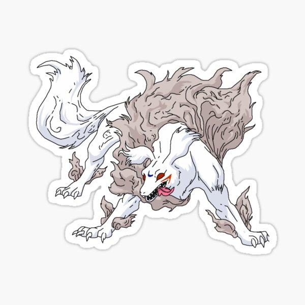 Inuyasha demon slayer Sticker