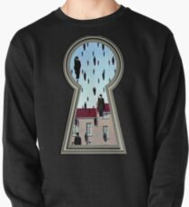 """Magritte from the lock"" Pullover"