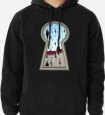 """""""Magritte from the lock"""" Pullover Hoodie"""