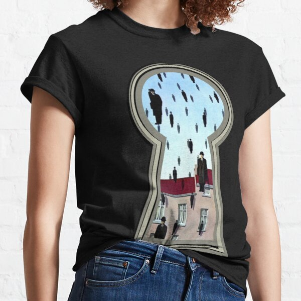 """""""Magritte from the lock"""" Classic T-Shirt"""